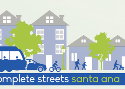 A 2016-17 planning process to create a complete streets plan in Central Santa Ana.