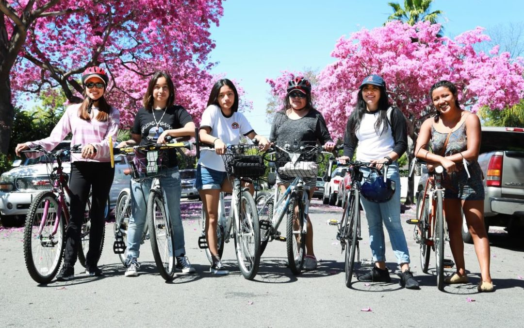 A Santa Ana based all-mujer/women, women identified bike group