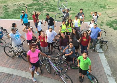 Santa Ana Active Street's weekly summer bike rides