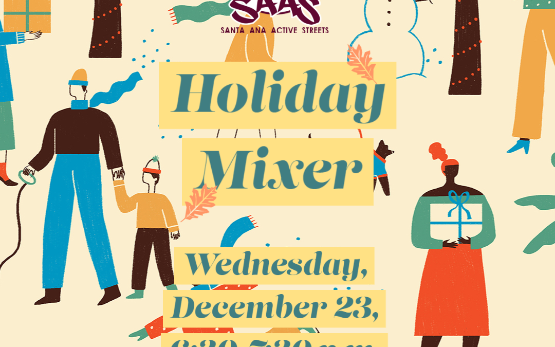 SAAS Holiday Mixer Tonight, 12/23, 6:30 p.m.